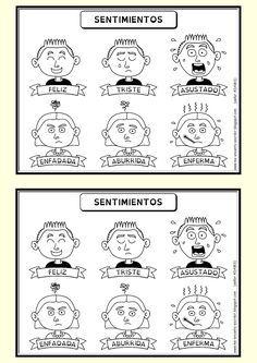 Resultados De La Busqueda De Imagenes Dibujo De Expresiones De Emociones Y Sentimientos Para Tr Sentimientos Y Emociones Emociones Espanol De Escuela Primaria