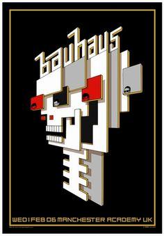Bauhaus Concert Poster