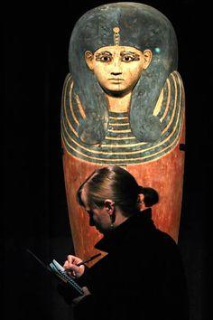 The sarcophagus of Queen Meritamon.