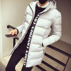 48.33$  Buy now - http://alik9f.worldwells.pw/go.php?t=32749981623 - Fashion wadded jacket men long winter outerwear thicken cotton padded jacket coat detachable sleeve slim hooded vest male 48.33$