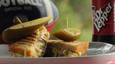 Billede af en tunamelt sandwich