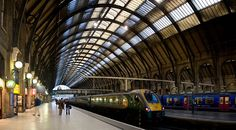 Ahh, so many happy memories here!    Kings Cross Train Station, London England