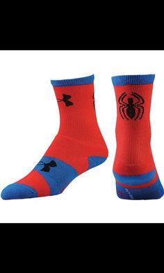 8008d888b407 Under Armour Super Hero Crew Socks - Boys  Grade School - Red Blue