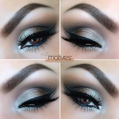 Motives Eyeshadow Makeup Look Cute Makeup, Pretty Makeup, Makeup Looks, All Things Beauty, Beauty Make Up, Makeup Tips, Hair Makeup, Makeup Ideas, Eyeliner Makeup