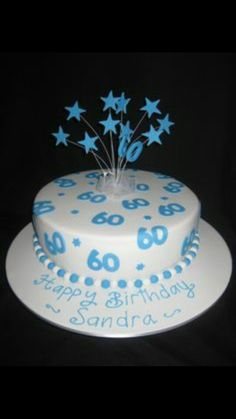 Birthday Cakes 60th Cake For Men Adult Party