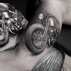 Old school vintage styled biker tattoos Tattoo-Inspirationen zum Thema Biker. Old School Vintage Stil Biker Tätowierungen Hd Tattoos, Biker Tattoos, Motorcycle Tattoos, Trendy Tattoos, Body Art Tattoos, Sleeve Tattoos, Tattoos For Guys, Cool Tattoos, Engine Tattoo