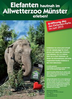 Zoo Münster – An Animalistic Augmented Reality Project in Junaio: http://junaio.wordpress.com/2013/06/25/zoo-munster/