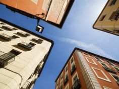 Street Corner in Lavapies Madrid