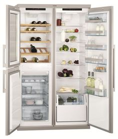AEG Perfektfit Fridge Freezer With Wine Cellar