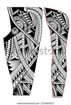 Tribal Art Tattoos, Maori Tattoo Arm, Polynesian Tattoo Sleeve, Polynesian Tribal Tattoos, Native Tattoos, Sleeve Tattoos, Mauri Tattoo Designs, Tattoo Designs Men, Geometric Sleeve Tattoo