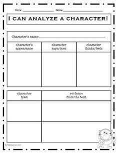 Characterization Essays (Examples)