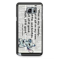 Sticth TATUM-10164 Samsung Phonecase Cover Samsung Galaxy Note 2 Note 3 Note 4 Note 5 Note Edge