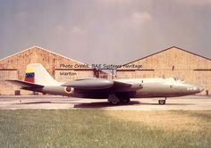 EE Canberra for the Venezuelan Air Force pre delivery at Warton March 1953 Previously Rolls Royce, English Electric Canberra, American Air, Military Service, Royal Air Force, Planes, Fighter Jets, Aircraft, United States