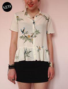 République Du Chiffon Maeva   Peplum blouse