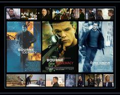 The Bourne Trilogy - Bourne, Identity, Jason Bourne, Supremecy, Ultimatum