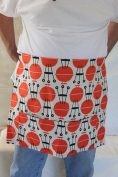 BBQ kettles half by CooknServeAprons on Etsy, $20.00