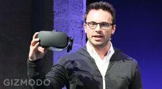 Voici le casque de RV définitif d'Oculus Rift a présenté à la presse en amont de E3 2015. Il sera commercialisé en Q1 2016 (comme Sony) et pour le moment la division Story Studio se concentre sur le contenu, à savoir les jeux vidéos.