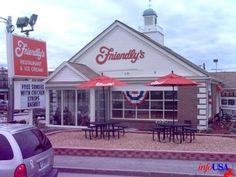 Friendly's  Worked at Friendly's in high school, and Paul later worked for the corporation!