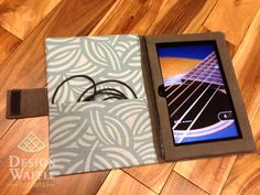 DIY Kindle/Tablet Case - starting on this tomorrow, with denim!