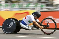 Former F-1 driver wins his 3rd gold medal in the Paralympic Games. Rio 2016