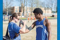 When the whistle blows or the horn sounds that's when, for most, the action stops. For Athletic Trainers, that's usually when their work begins. http://courier-tribune.com/thrive-magazine/health-and-beauty/when-whistle-blows#sthash.3WokUfb6.dpuf