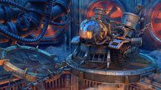 Steam-Powered Factory – Steampunk Art by Igor Rashkuev Steampunk Wallpaper, Steampunk Artwork, Computer Wallpaper, Wallpaper Backgrounds, Wallpapers, 3d Max Tutorial, V Ray Materials, Cinema 4d Tutorial, 3d Studio