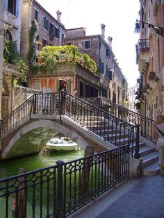 Venice,Italy (pretty sure I walked that bridge several times on my visit there....Sherri)