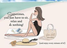 Sit Relax and Do Nothing Beach Art Beach Quotes Beach