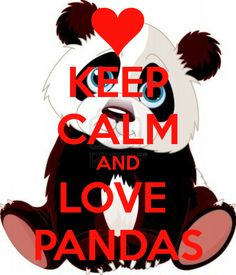 keep calm and love pandas | KEEP CALM AND LOVE PANDAS - KEEP CALM AND CARRY ON Image Generator