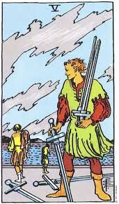 Five of Swords Tarot Card Meanings - TarotWikipedia