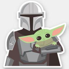 Star Wars Birthday, Star Wars Party, Star Wars Stickers, Cute Stickers, Cuadros Star Wars, Personalized Stickers, Cute Disney, Cute Illustration, Business Logo
