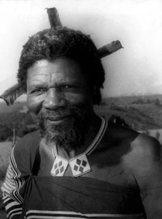 King Sobhuza of Swaziland being the longest precisely dated monarchical reign on record. African Tribes, African Diaspora, African Culture, African History, Tribal Warrior, African Royalty, Warrior King, We The Kings, Art Africain