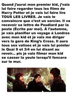 Pnt tu me fait sa je te tue kids ou pas ! Harry Potter Disney, Harry Potter Ron, Harry Potter Jk Rowling, Lol, French Quotes, Anime Manga, Funny Quotes, Jokes, Humor