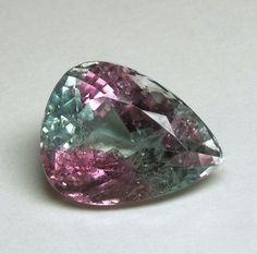 Bicolored Tourmaline
