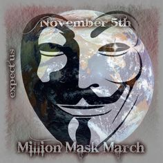 November 5th expect us million mask march | Anonymous ART of Revolution