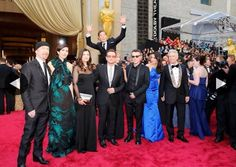"U2 getting ""Cumberbombed"" at the Oscars :'D This is one of the best things I've ever seen!"