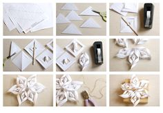 Freebie Friday: Paper Snowflake Templates