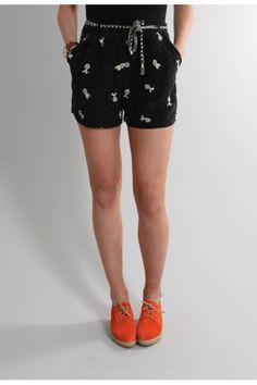 Sessun Red Spain Shorts $246