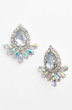 BP. Teardrop Fan Stud Earrings (Juniors) | Nordstrom