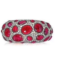 A SPINEL AND DIAMOND BANGLE, BY ANDRÉ MARCHA | Jewelry Aucti ...