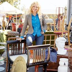HGTV designer Emily Henderson gives full, flea market makeover instructions