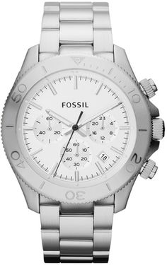 CH2847 - Authorized Fossil watch dealer - MENS Fossil RETRO TRAVELER, Fossil watch, Fossil watches