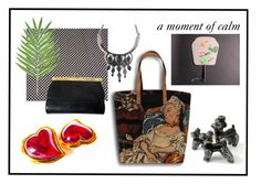 """a moment of calm"" by l-u-c-i-l-e ❤ liked on Polyvore featuring vintage"