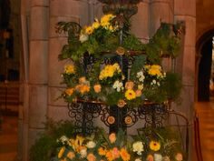 Cathedral flowers in Frieburg ,Germany