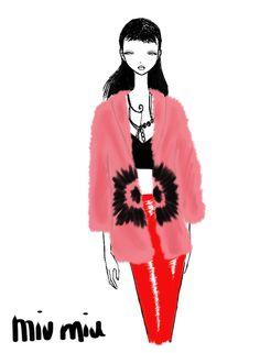 Miu Miu Paris Womenswear S/S 2013 by Rei Nadal.