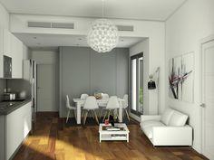 Imagen del interior de una de las viviendas de León XIII, 70 Conference Room, Table, Furniture, Home Decor, Interiors, Decoration Home, Room Decor, Tables, Home Furnishings