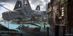 Resultado de imagem para sci fi village
