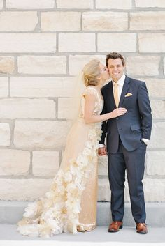 Custom Gown + veil: aBree Original - Our Most Ambitious Bride EVER! (Photgraphy by Rebekah Westover) - via greylikeweddings