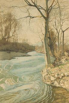 Ivan Bilibin: At the Riverbank