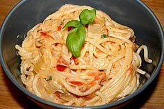 - Tomaten - Feta - Pfanne Spaghetti - Tomaten - Feta - Pfanne Feta is a type of cheese. Feta or FETA may also refer to: Noodle Recipes, Pasta Recipes, Soup Recipes, Spaghetti Recipes, Healthy Snacks, Healthy Recipes, Italian Recipes, Food Porn, Easy Meals